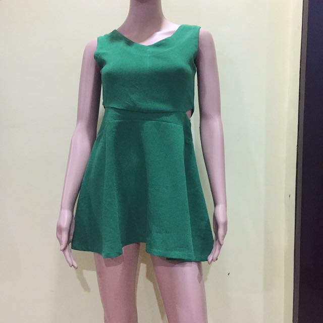 Green Petite Dress