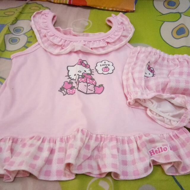 Hello Kitty Dress And Panty