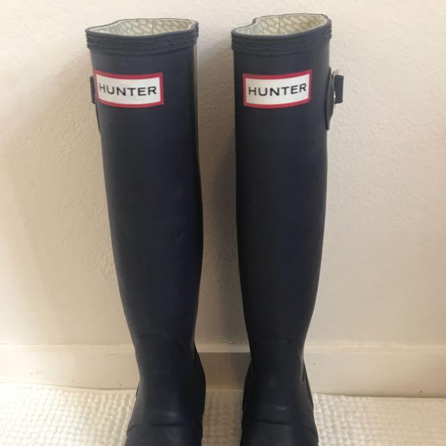 Hunter Boots - Size 36UK