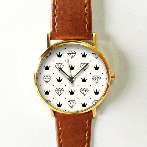 e8b9ec55c70 Iconic Diamond   Crown Watch