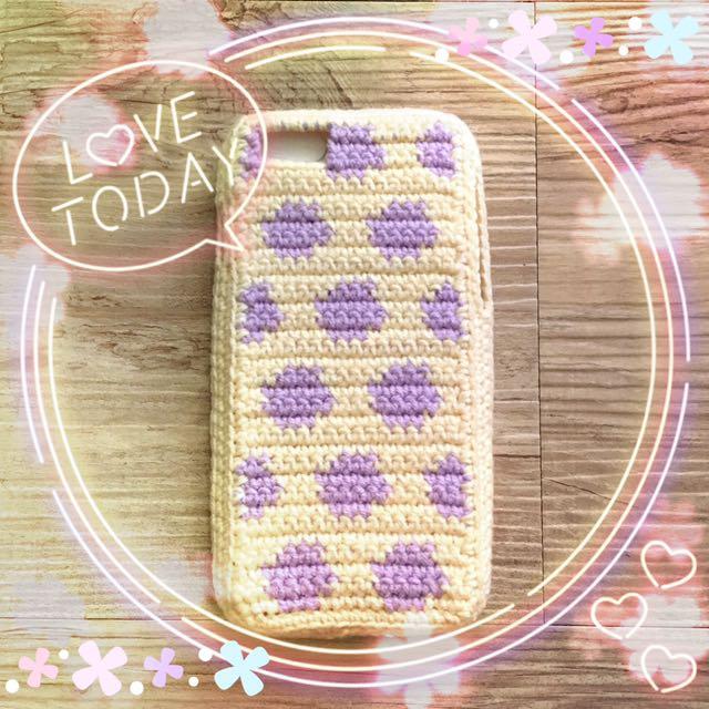 Iphone6 / Iphone6plus 手機殼 ✿ 毛線編織手作雜貨 ✿