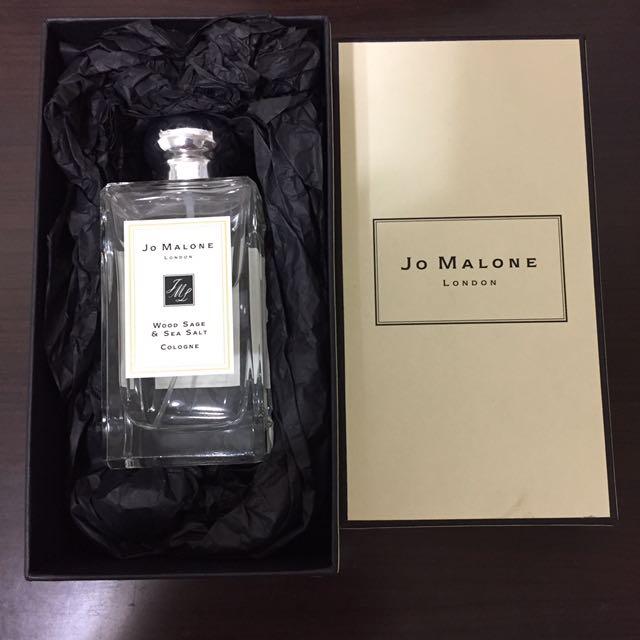 (全新)Jo Malone-Wood Sage & Sea Salt鼠尾草與海鹽