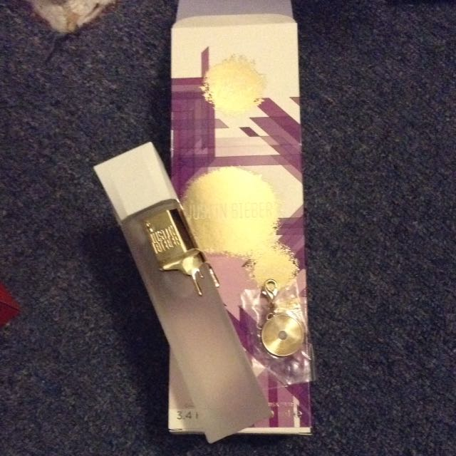 Justin Bieber Collectors Edition Perfume