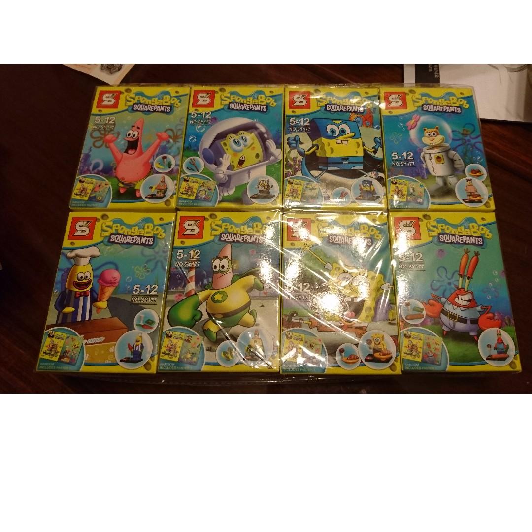 Ko Lego Spongebob Squarepants Set Of 8 Toys Games Bricks