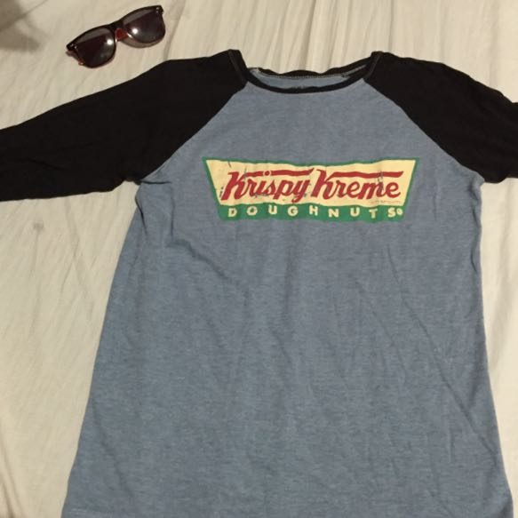 Krispy Kreme Vintage Style 3/4s Sleeves