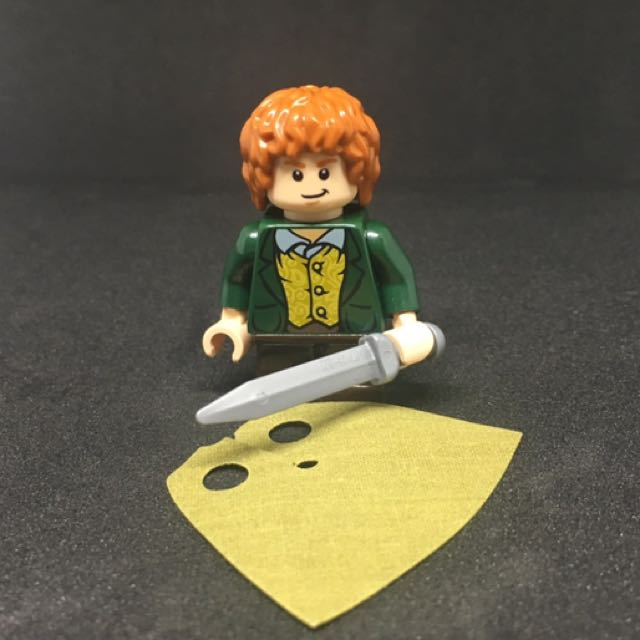 Lego Lord Of The Rings Merry Brandybuck Minifigure