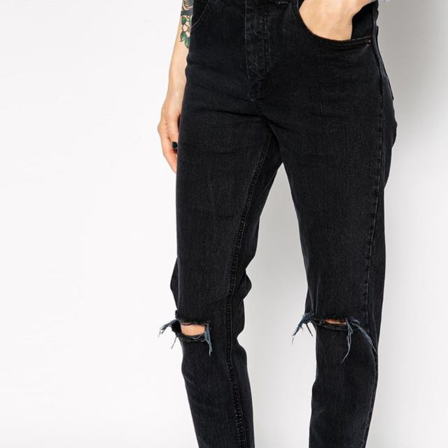 Levi's Ripped Knee Vintage Jeans