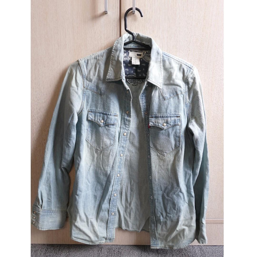 LEVI'S Woman Denim Jacket (Size SMALL)