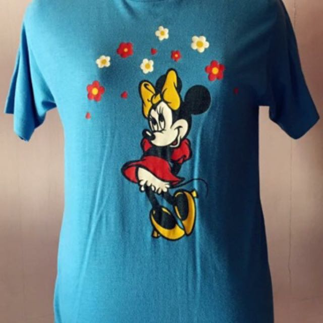 c2445d46 Limited Edition Of Vintage Minnie Mouse Tshirt, Women's Fashion ...