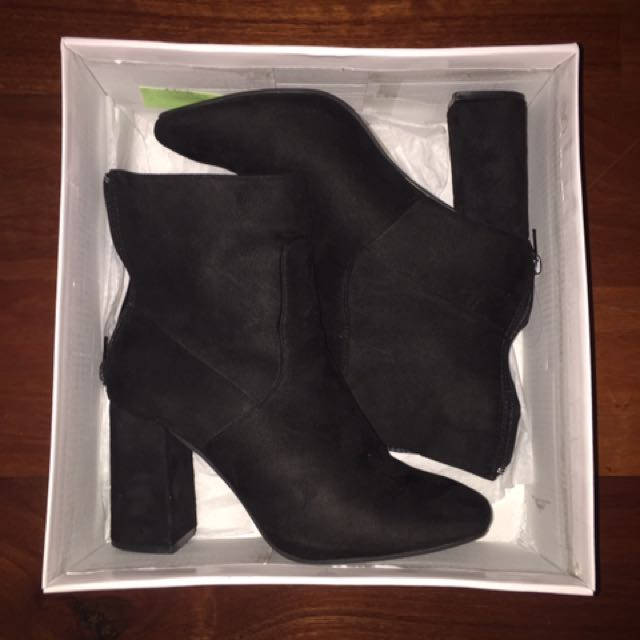 Linzi High Heels Black Suede