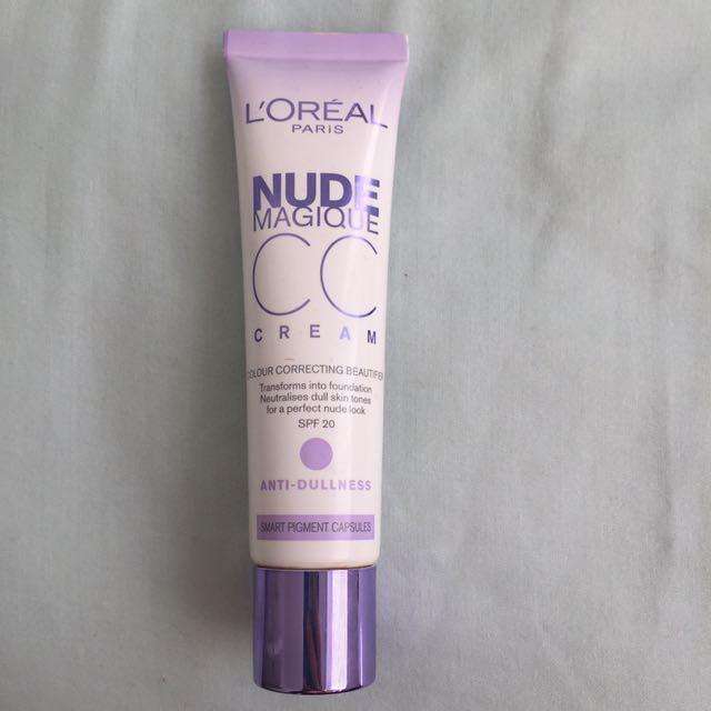 Loreal Paris Nude Magique CC Cream