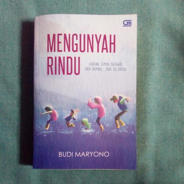 Mengunyah Rindu - Budi Maryono