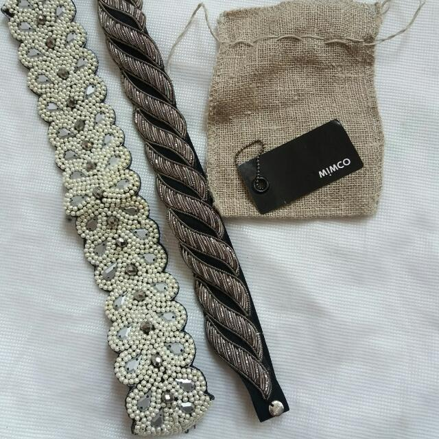 Repriced!!! Mimco Headband - 1800 Value Each