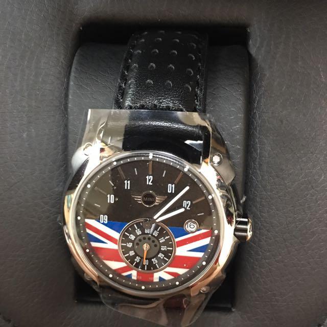 MINI 56週年旗幟限定紀念手錶