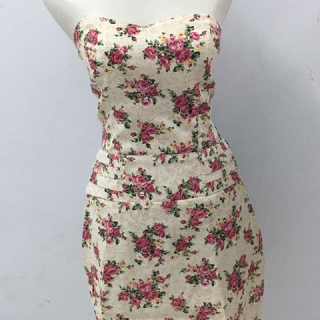 Mini Dress Flower Theme