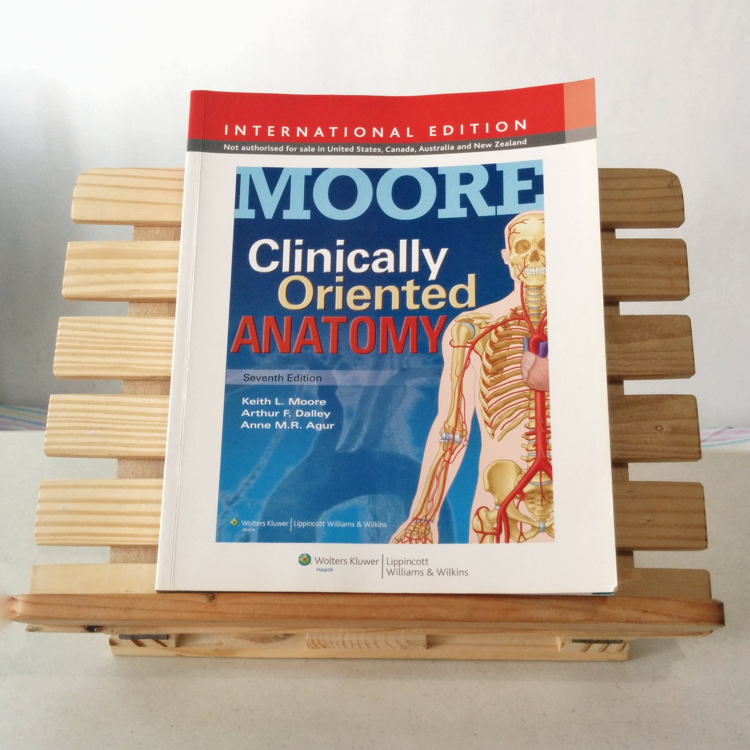 Moore Clinically Oriented Anatomy 7th edition (latest), Textbooks on ...