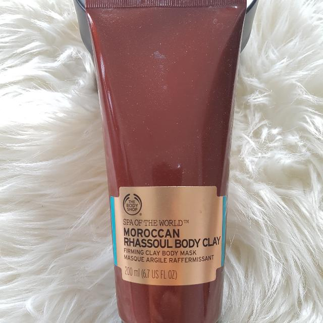 The Body Shop Moroccan Rhassoul Body Mask (Lulur Tubuh) 200ml