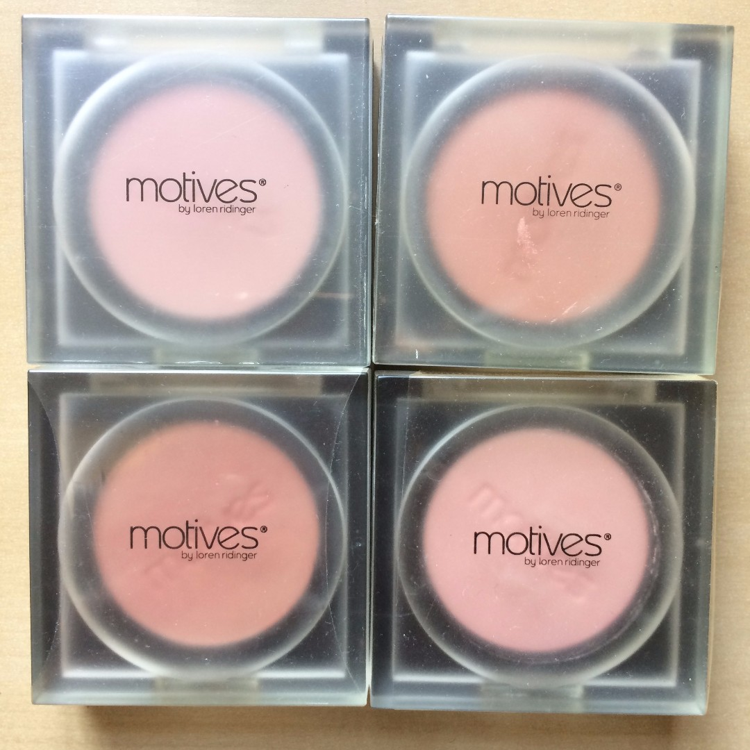 MOTIVES Eyes Shadows and Blushes