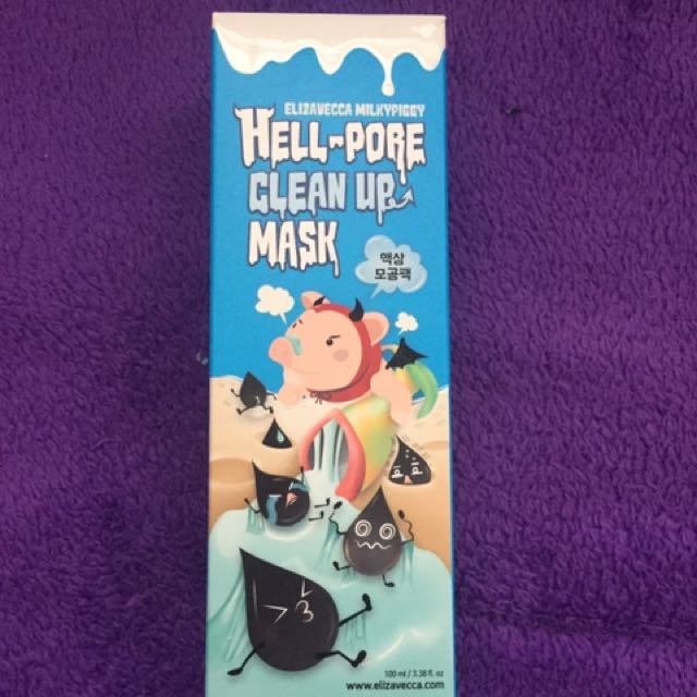 NEW HELL PORE FACE MASK