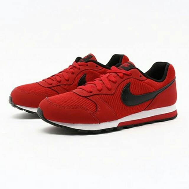 nike md runner 2 (red)