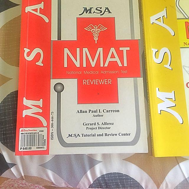 NMAT Reviewer Set