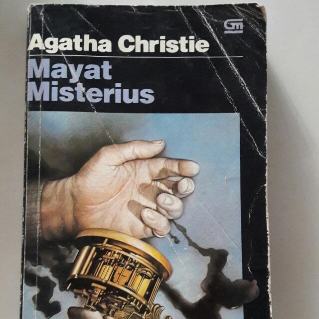 Novel AGATHA CHRISTIE - MAYAT MISTERIUS