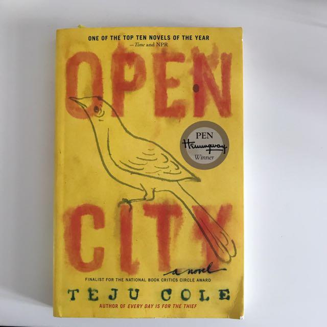 Open City-Teju Cole