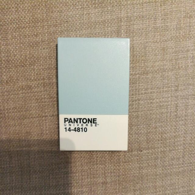 Pantone Light Blue Business Card Holder