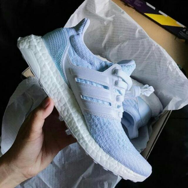 """info for cbf92 ef570 PARLEY CORAL BLEACHING X ADIDAS ORIGINALS ULTRA BOOST 3.0 """"ICE BLUE"""", Men s  Fashion, Men s Footwear on Carousell"""