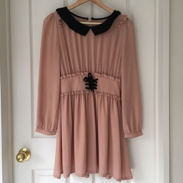 Peach Cute Dress