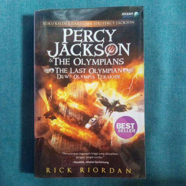 Percy Jackson & The Olympians: The Last Olympian - Rick Riordan