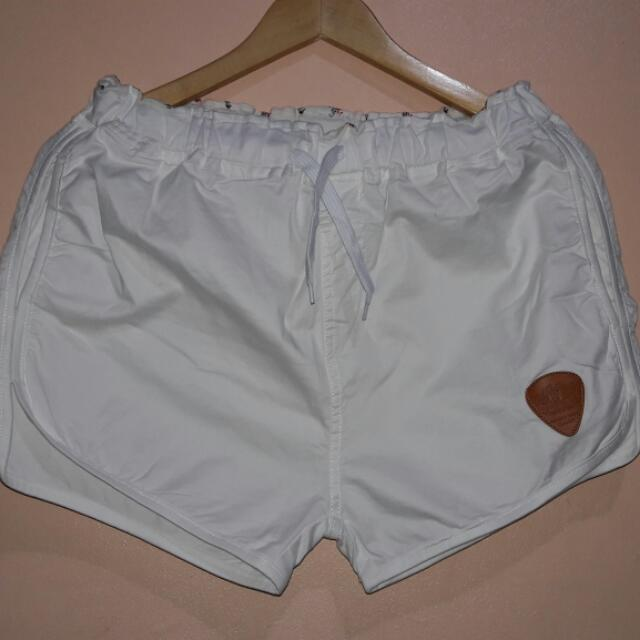 Plus Size Dolphin Shorts
