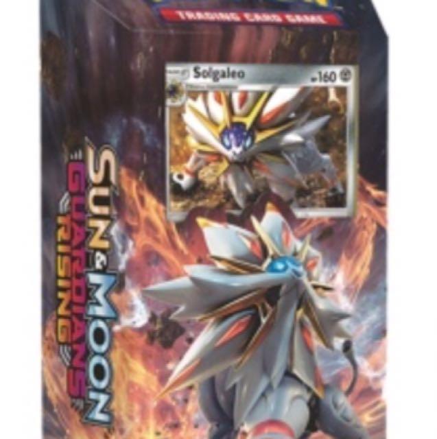Pokemon Sun & Moon Guardians Rising Steel Sun Theme Deck