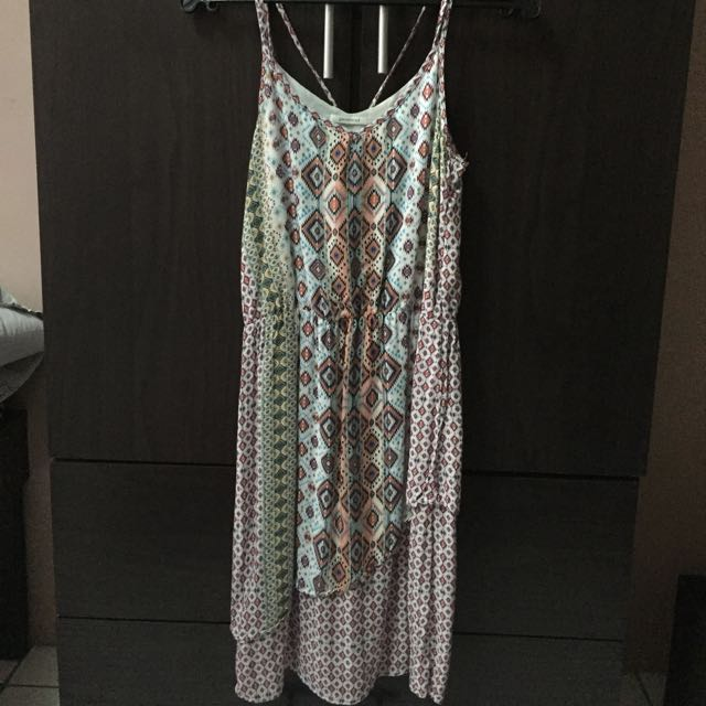 Promod Overlap Dress (Size Small)