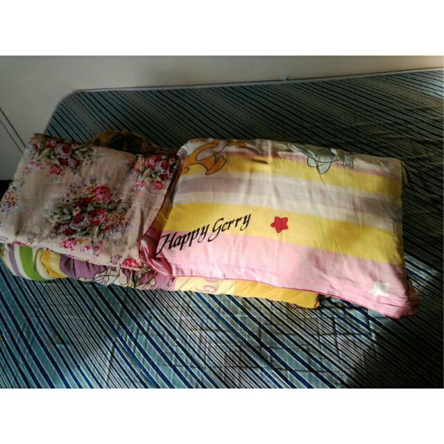 Quilted Blanket + Pillow
