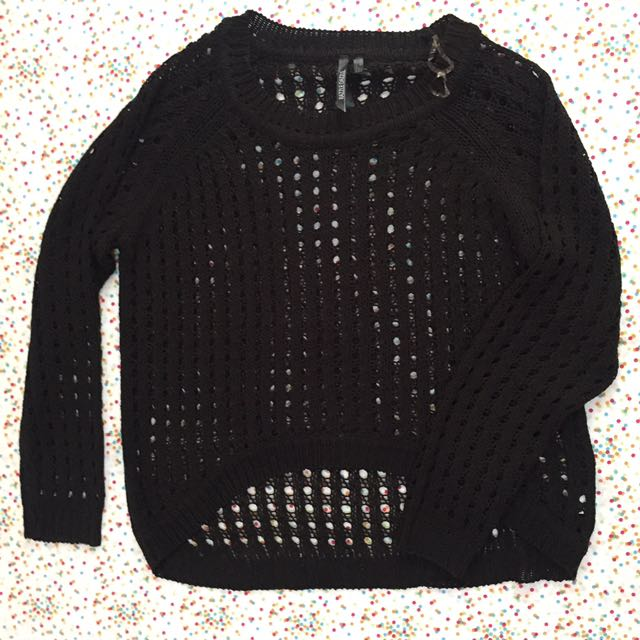 RAZZLE DAZZLE knit black