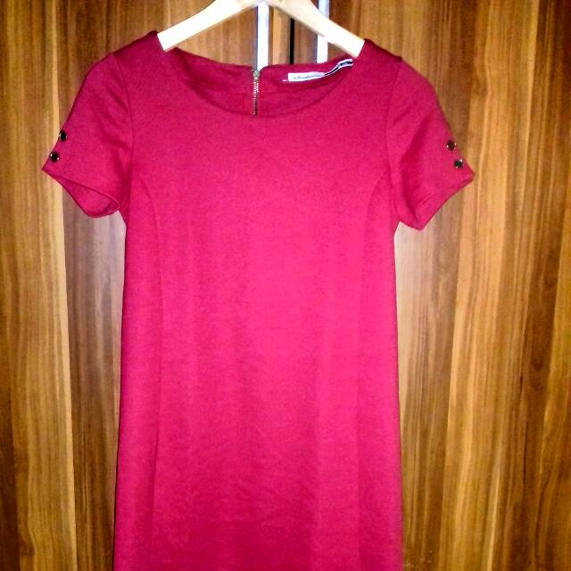 Mini Dress Red Bodycon