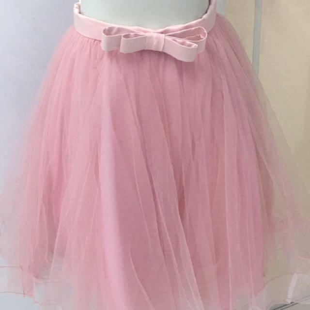 Rok Tutu Pink Party Dress
