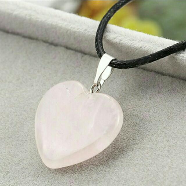 Rose Quartz Love ♥ Pendant