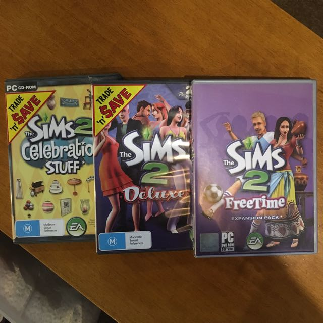 SIMS 2 DELUXE + EXPANSIONS