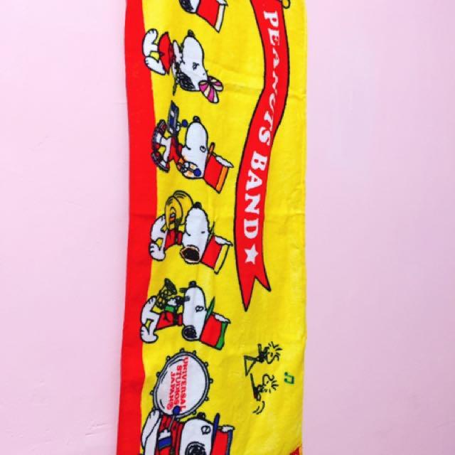 Snoopy史奴比❤️長毛巾