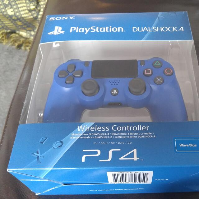 Sony Dual Shock 4 Wave Blue Controller