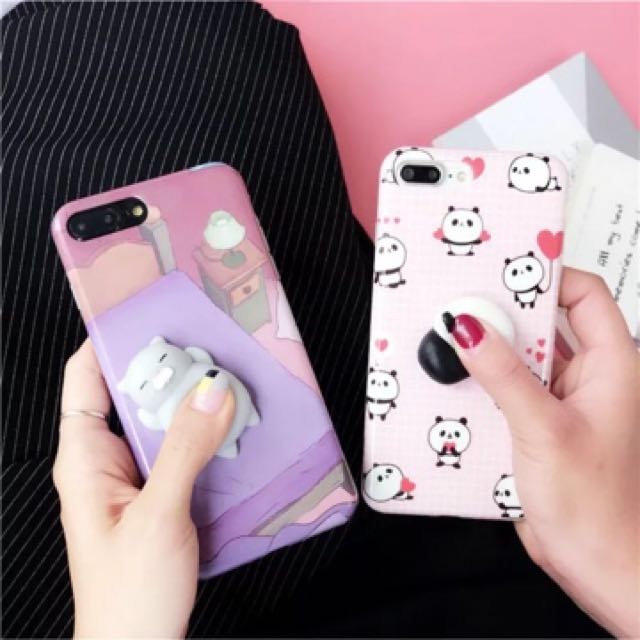 SQUISHY Cute IPhone Case