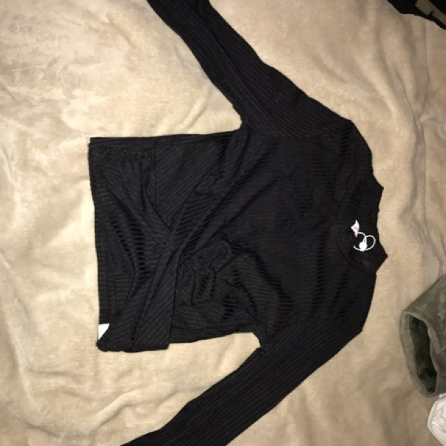 SUPREE LONG SLEEVE CROP