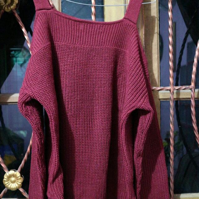 Sweater Red Mayoutfit