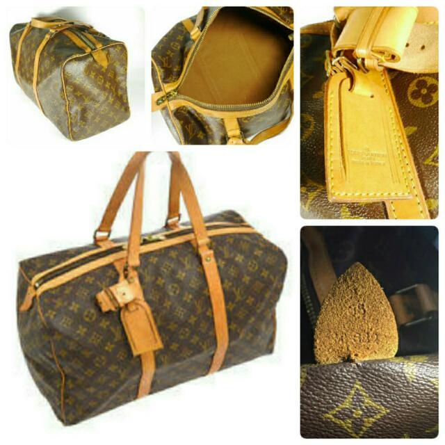 9c11a97ac9e9 Tas Louis Vuitton Gym 35 Original Bag Lv Aurhentic Second Preloved Bekas  Branded, Luxury, Bags & Wallets on Carousell