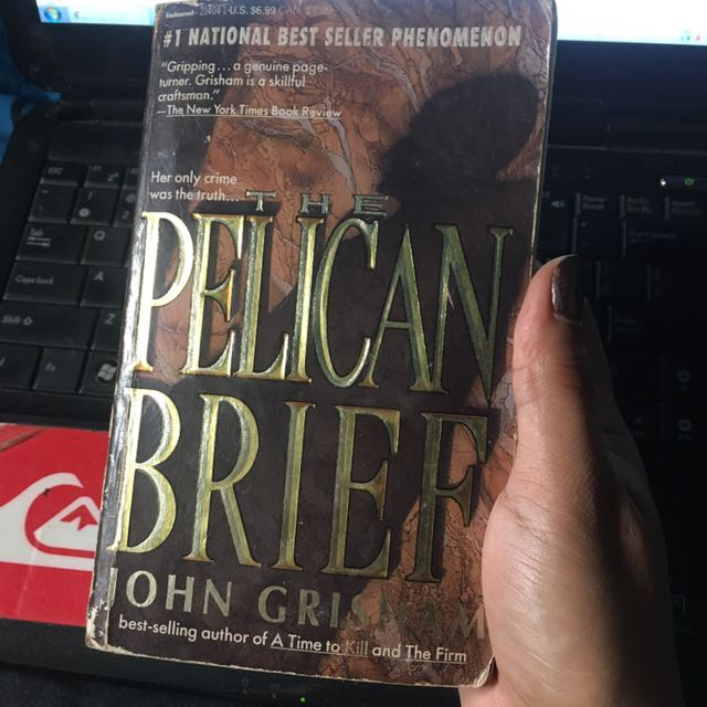 the pelican brief book review