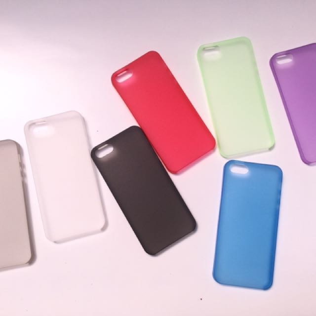Thin Clear iPhone 5 / 5s / SE Case