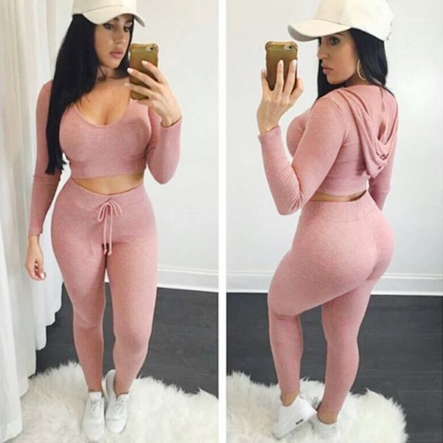 Two Piece Sweat Suit