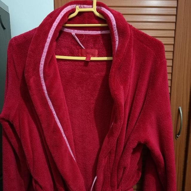 Victoria's Secret Long Fleece Robe